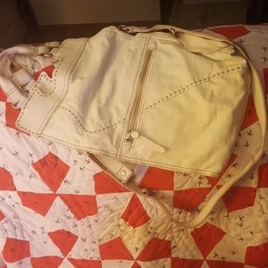 GORGEOUS OFF WHITE LUCKY BRAND ABBY ROAD BAG-EUC
